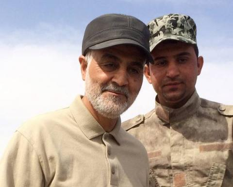IRGC Terrorist General Qasem Soleimani in Iraq