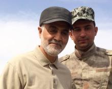 IRGC Terrorist General Qasem Soleimani in Iraq